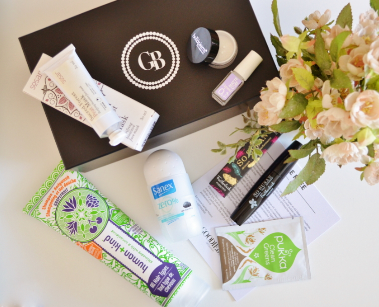 Goodiebox april 2016