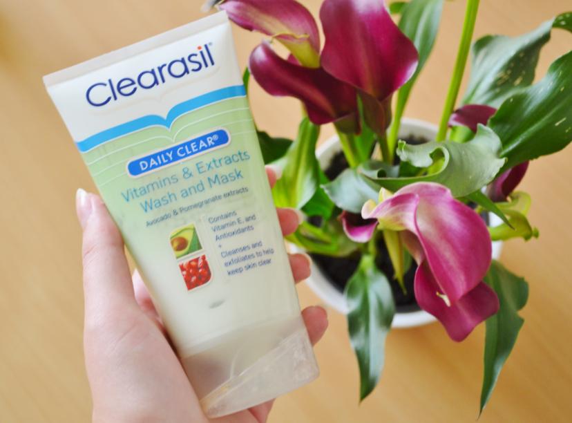 Når hudplejen ikke fungere clearasil wash and mask