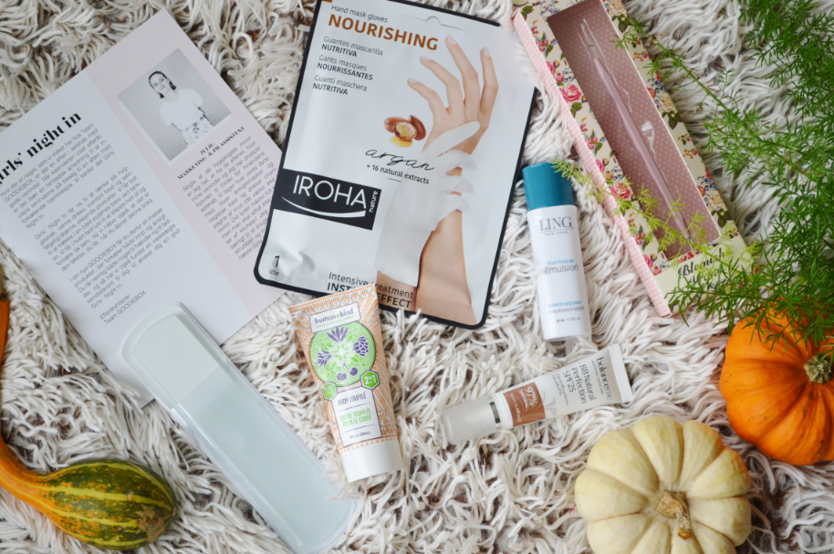 goodiebox oktober 2017