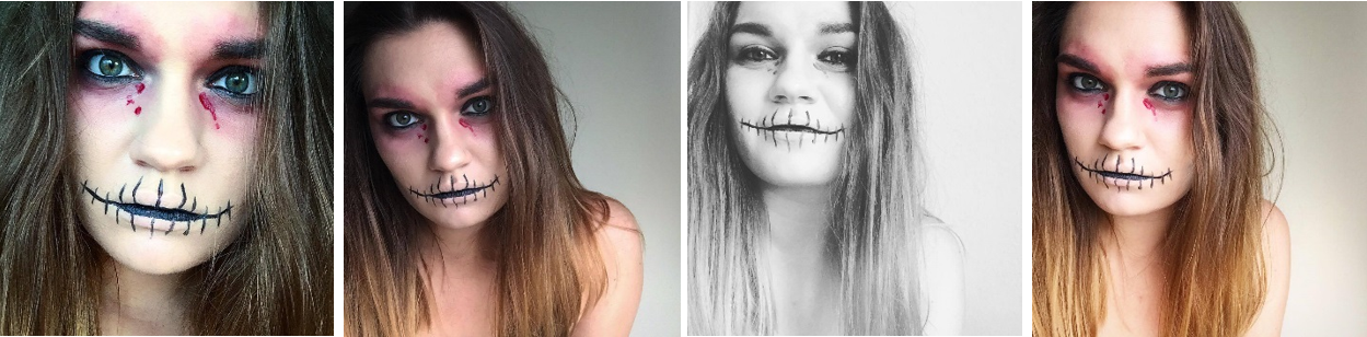 halloween makeup kranium