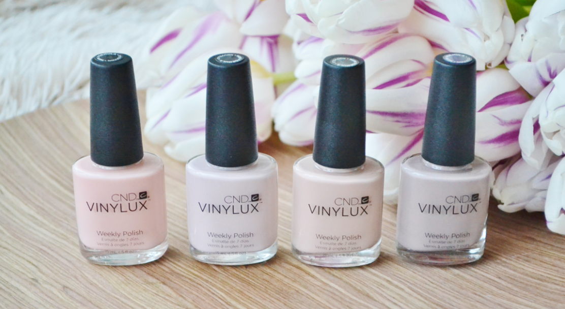 cnd vinylux the nude collection 1