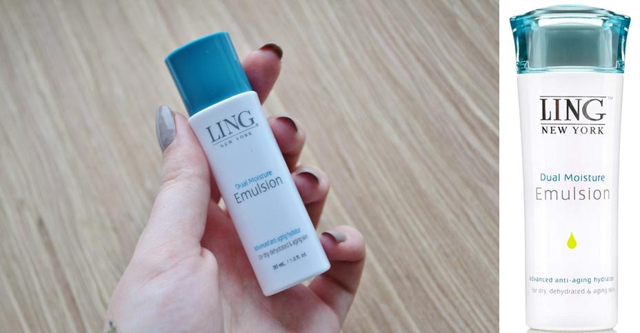 dual moisture emulsion Ling Skincare