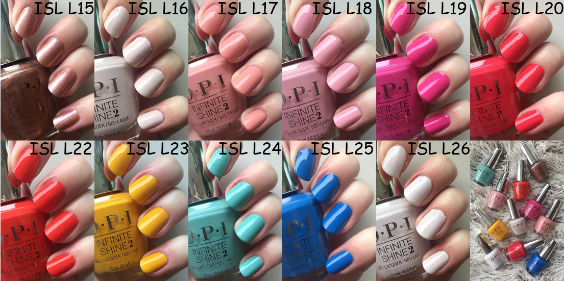 lisbon collection by OPI infinite shine