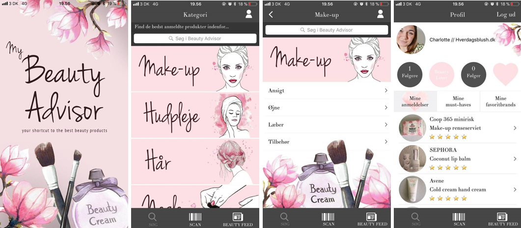my beauty advisor app