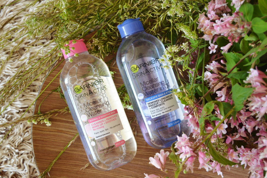 Garnier micellar cleansing water 1
