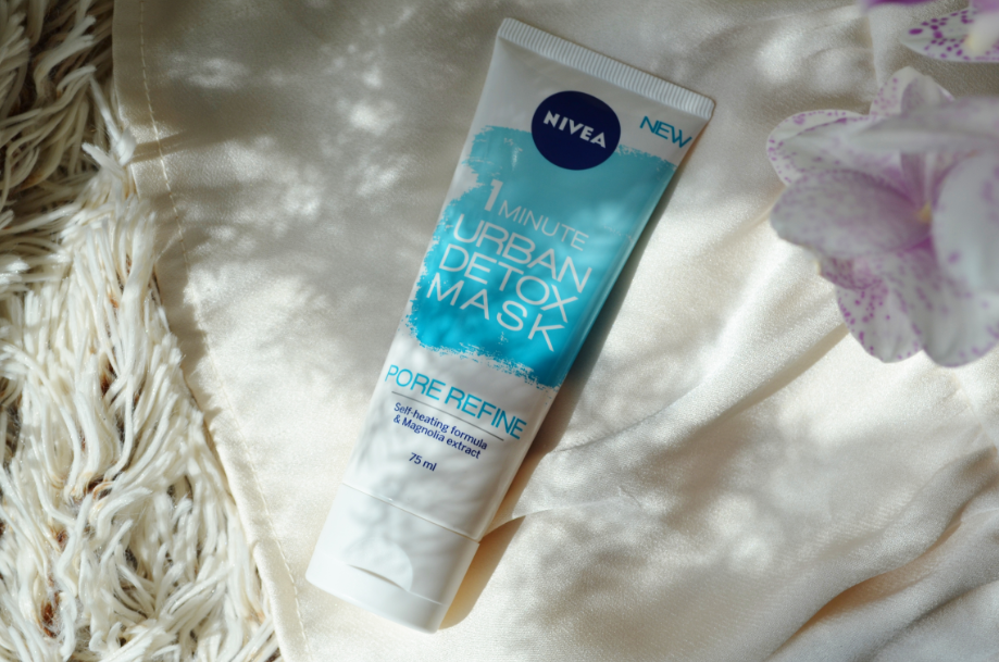 1 minute urban detox mask nivea