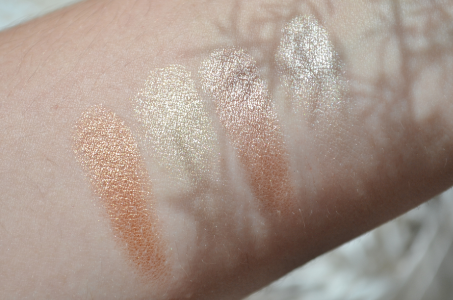glow kit sun dipped 3 swatches
