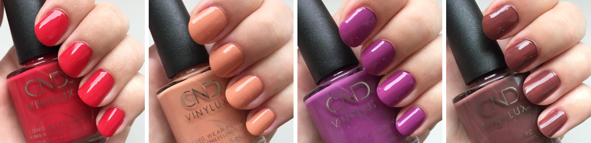 cnd wild eartvh the collection swatches