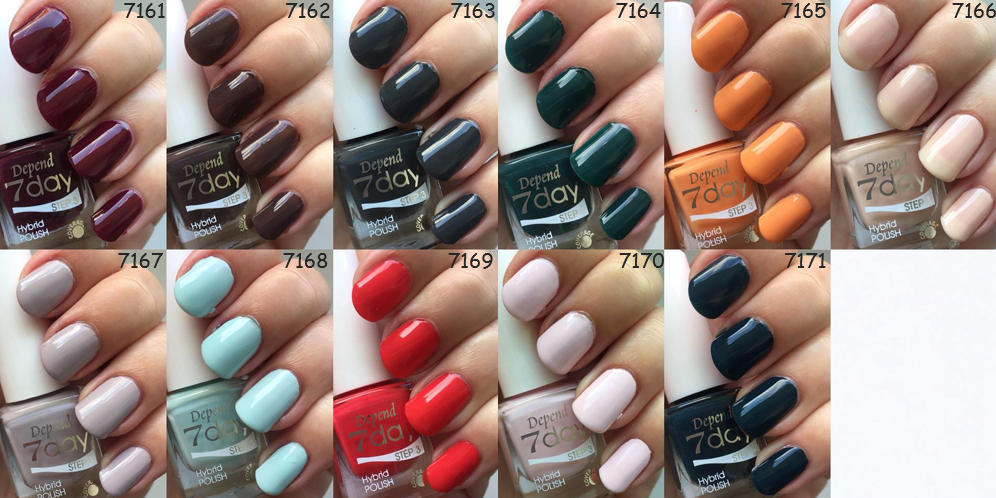 depend aw 2018 classic woman swatches