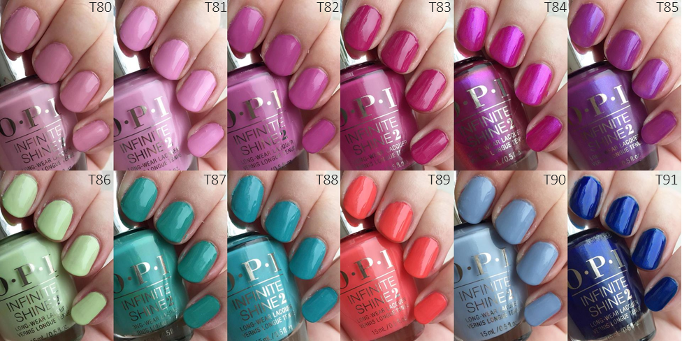 opi tokyo collektion spring 2019 swatches