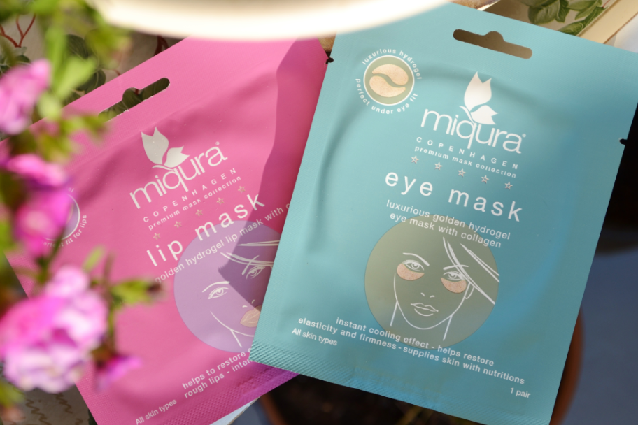 miqura lip mask & eye mask