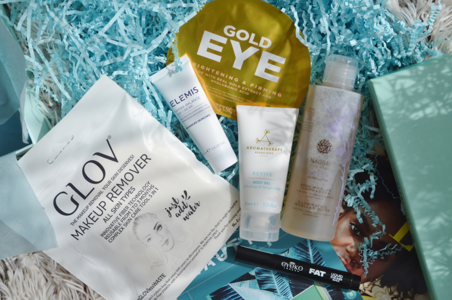 Look fantastic beautybox juli 2019 3
