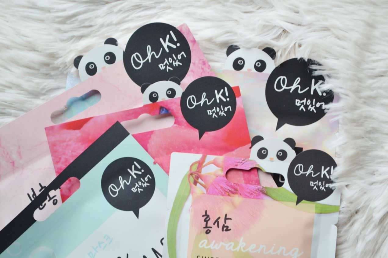 oh k! sheet masker 2